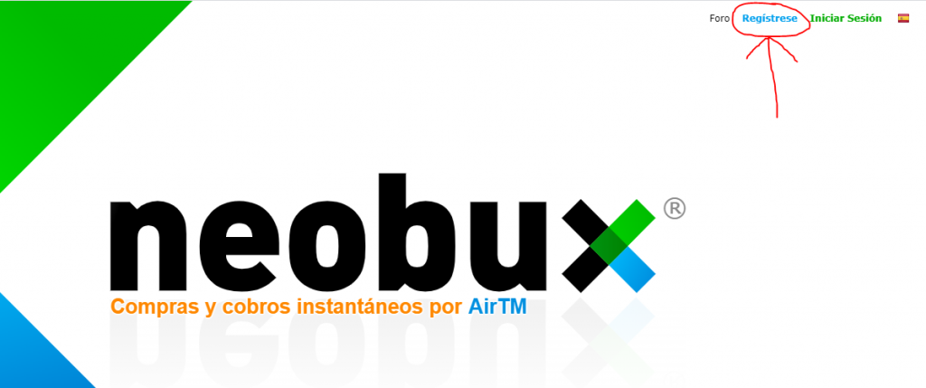 Registro en NeoBux