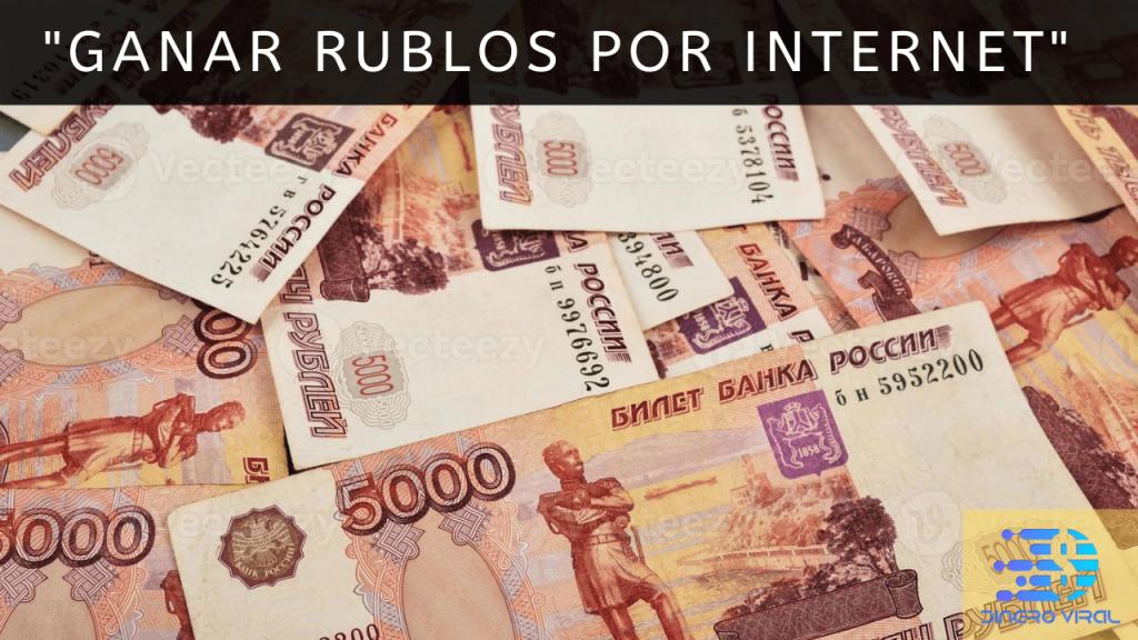 Ganar Rublos por Internet